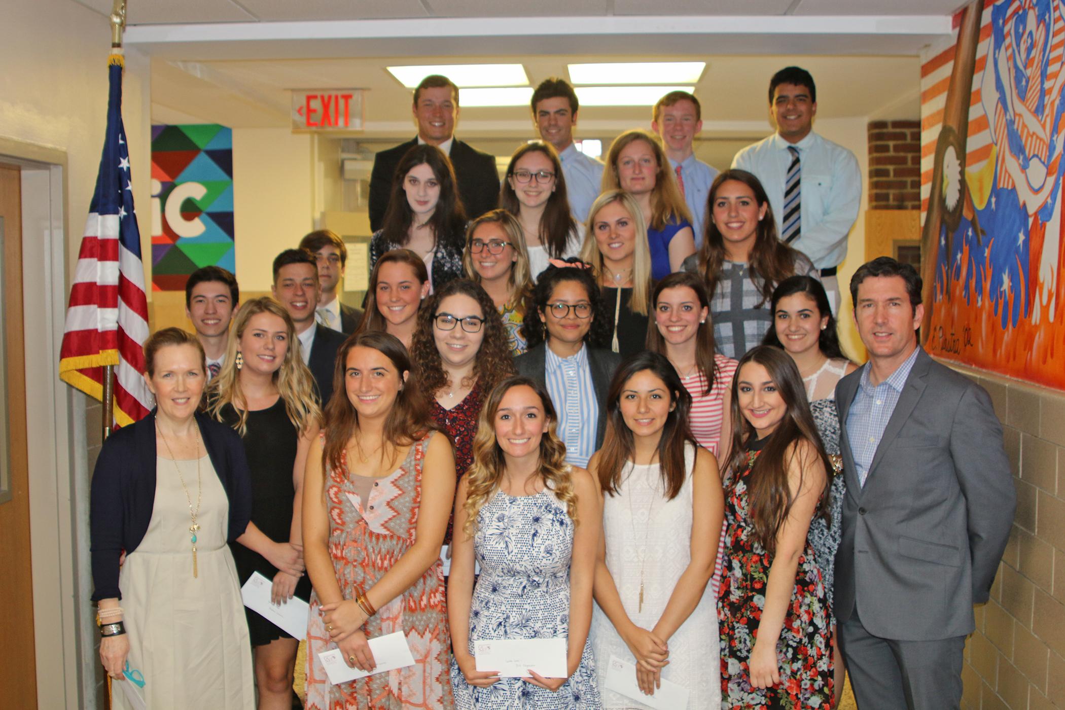 Garden City Scholarship Fund 2017 High School Club Awards