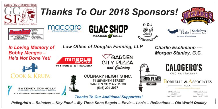 Garden City Scholarship Fund Harlem Wizards sponsors and supporters